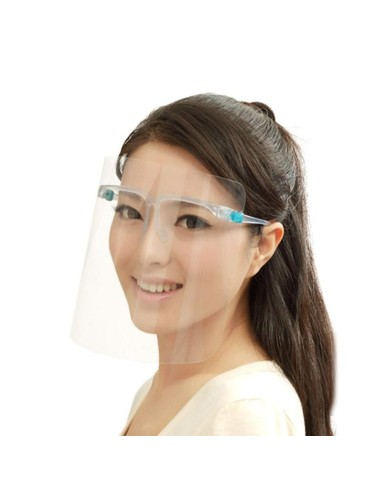 Face shield with glasses (minimum...
